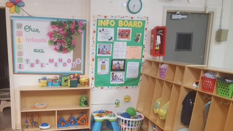 Infant and Preschool Area